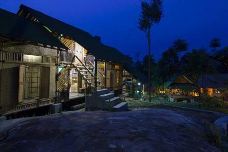 bamboo resort
