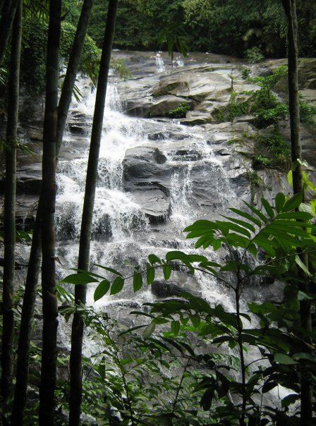 Sungai Gabai Waterfalls