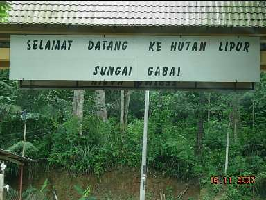 Gabai Waterfall Sungai Gabai Waterfall Map