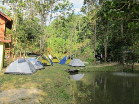 Berhulu Camp Kampung Serting Hulu Simpang Pertang Negeri Sembilan