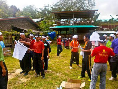 Permai D Valley Ratau camping site in sabah