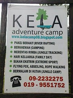 Kela Adventure Camp Raub Pahang