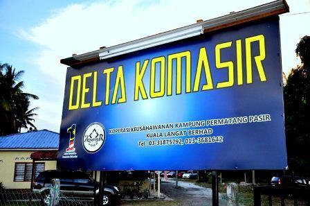 Kem Delta Komasir Jugra Banting