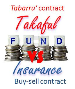 The difference between takaful and conventional insurance