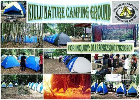 Kiulu Nature Camping Ground Tampaluri SAbah