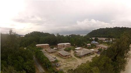 Teluk Gorek Chalet and Campsite Pantai Teluk Gorek Tanjung Resang Endau Johor