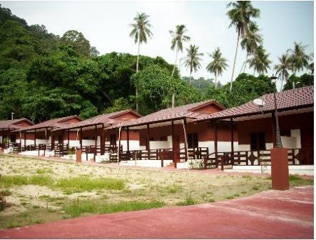 Vikri Beach Resort Pantai Bogak Pulau Pangkor