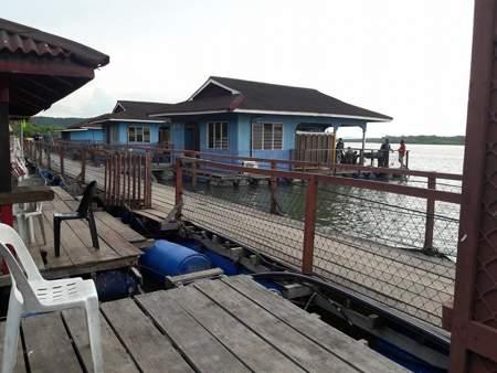 Chalet Terapung Segantang Garam ppk merbok