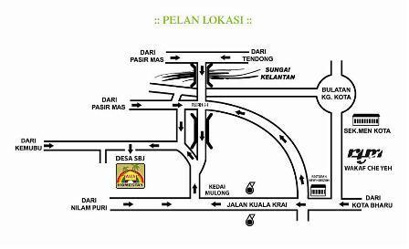Aiza Homestay Di Desa SBJ Beta Hilir, Kota Bharu, Kelantan