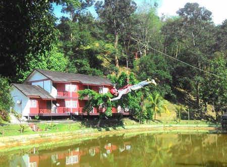 nur lembah pangsun eco resort hulu langat, selangor, malaysia